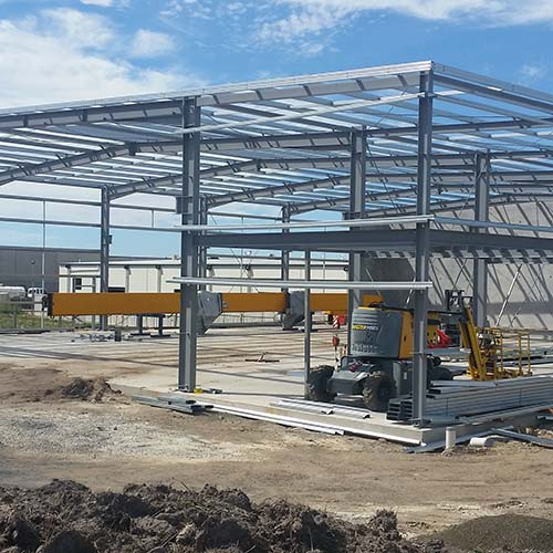 Commercial Building Steel Structure Construction
