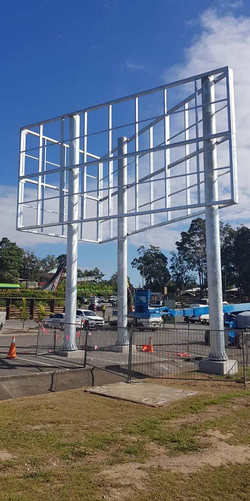 Steel Fabrication For Billboard