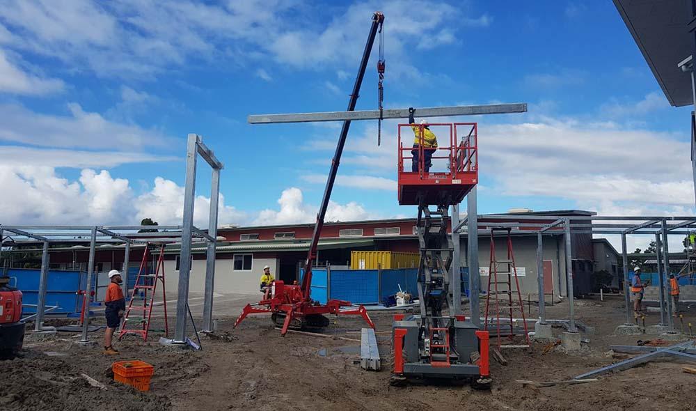 Structural Steel Installation Queensland